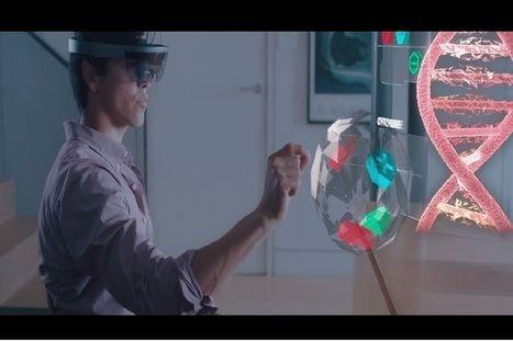 Microsoft HoloLens Future of Gaming 3D Virtual-Real Worlds Ed