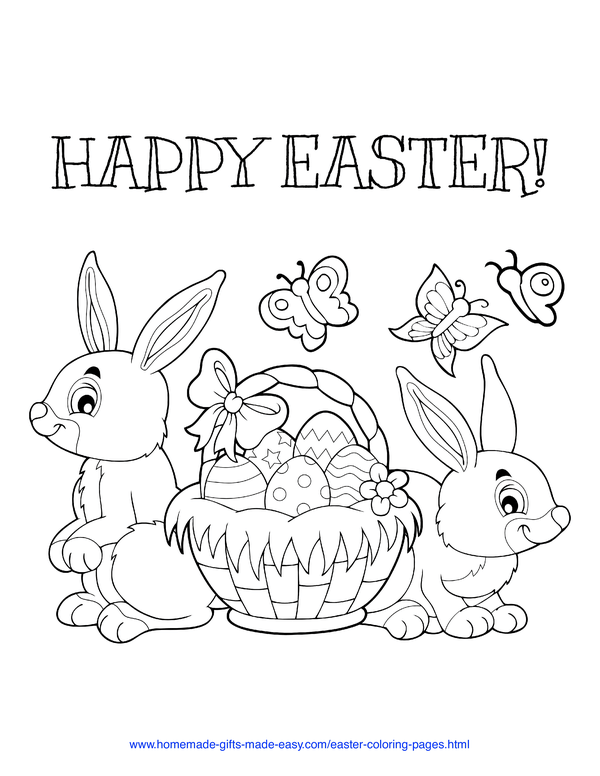 100 Easter Coloring Pages For Kids Free Printables Easter Coloring Pages Easter Colouring Bunny Coloring Pages