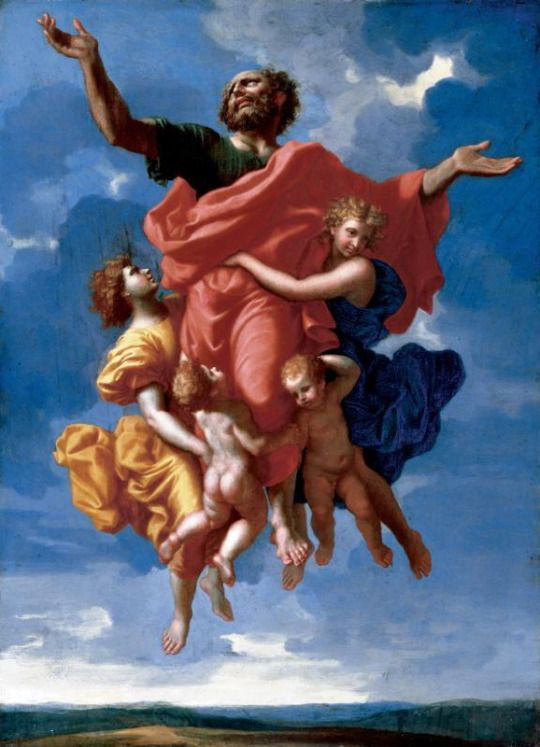 The Ecstasy of St. Paul by Nicolas Poussin