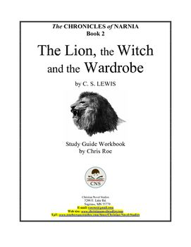 Study Guide For Narnia The Lion The Witch And The Wardrobe