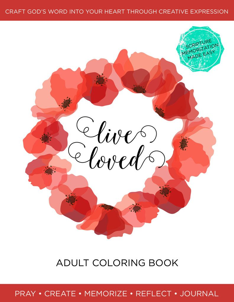 Live Loved: An Adult Coloring Book | Pinterest | Adult coloring ...