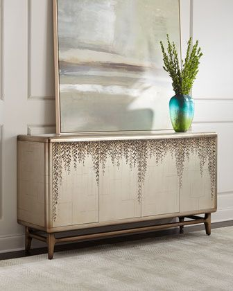 Dripping Vine Sideboard by John-Richard Collection at Horchow  Would be fun in front of the FeatherGrass wallpaper!