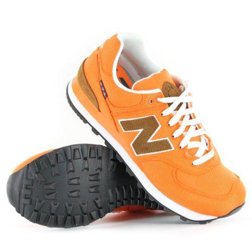 New Balance Classic Traditionnels M574 Orange Mens Trainers