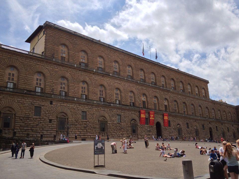 Palazzo Pitti in Firenze, Toscana