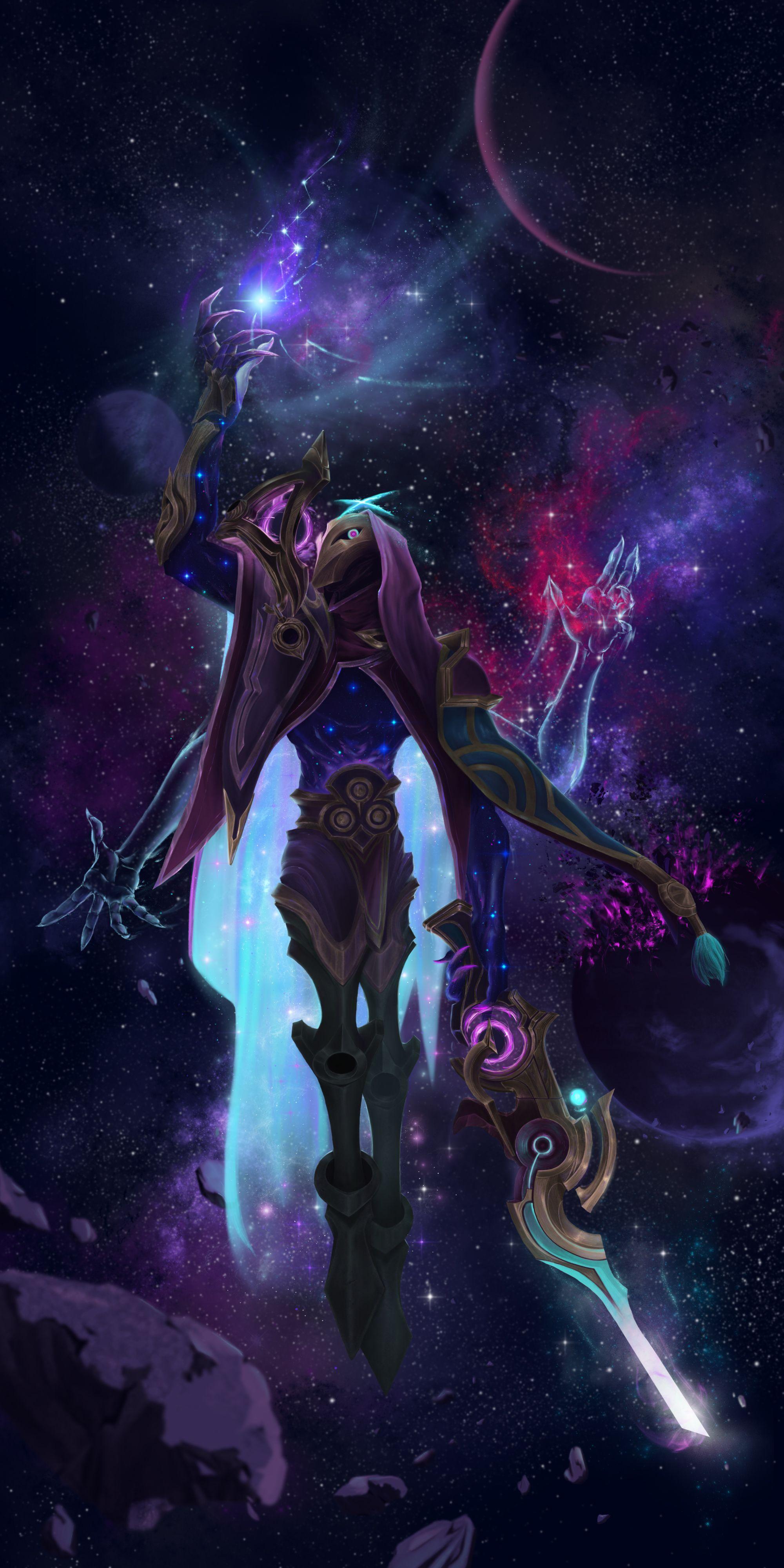 League Of Legends Dark Cosmic Jhin Fanart In 2021 Lol League Of Legends League Of Legends Jhin Champions League Of Legends