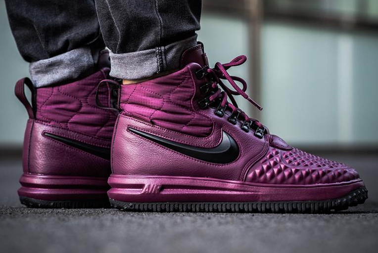 Get The Nike Lunar Force 1 Duckboot Bordeaux (Burgundy) Now