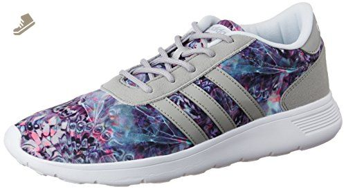 Adidas - Lite Racer W - AW3836 - Color: Green-Grey-Pink ...