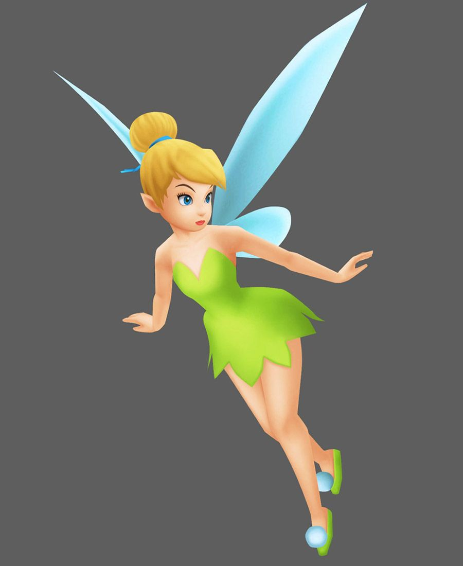 Tinker Bell - Characters & Art - Kingdom Hearts: Birth by ...