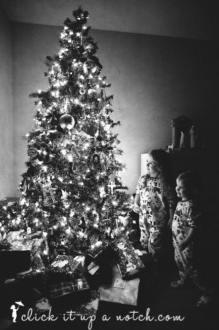 Christmas Tree Lights Photos 5 Easy Steps Holidays Pinterest
