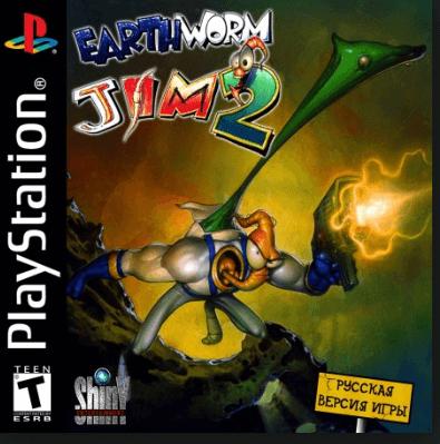 Game Pc Rip Earthworm Jim 2 Pal Español Psx Juegos Psx Descarga Juegos Juegos Pc