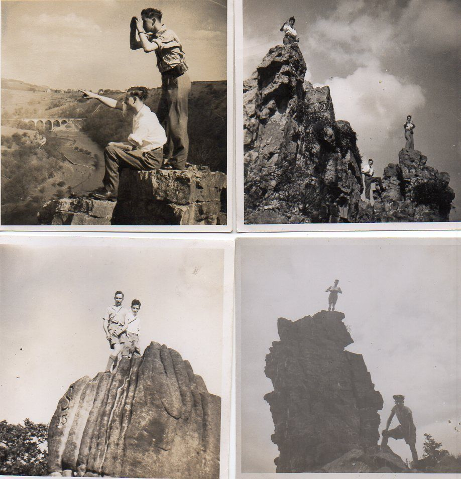 4 #small #vintage photos boys rock climbing #monsal dale bakewell derbyshire ,  View more on the LINK: http://www.zeppy.io/product/gb/2/142110323576/
