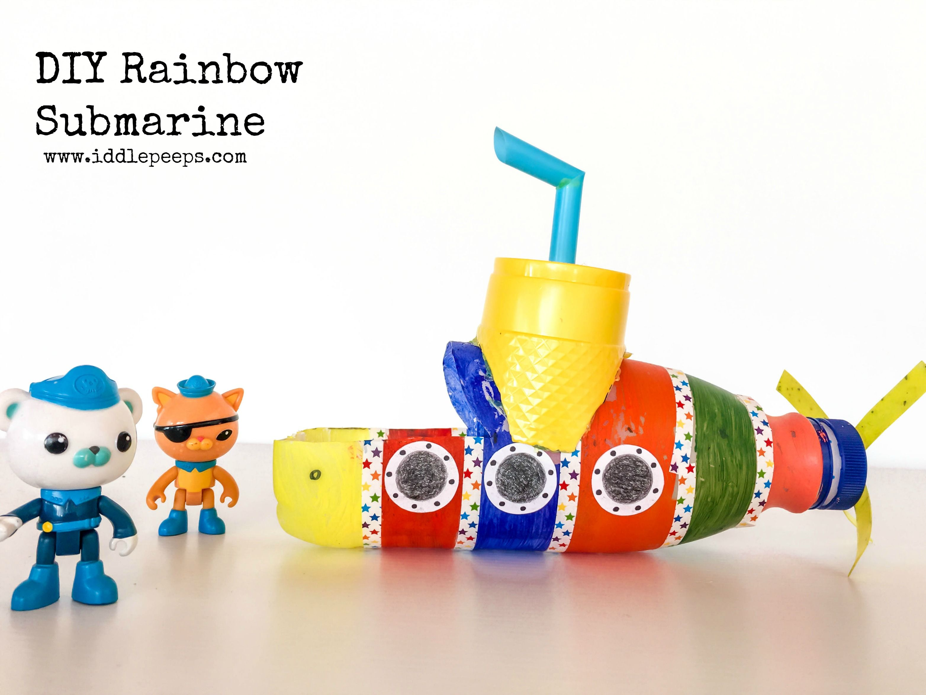 DIY Rainbow Submarine