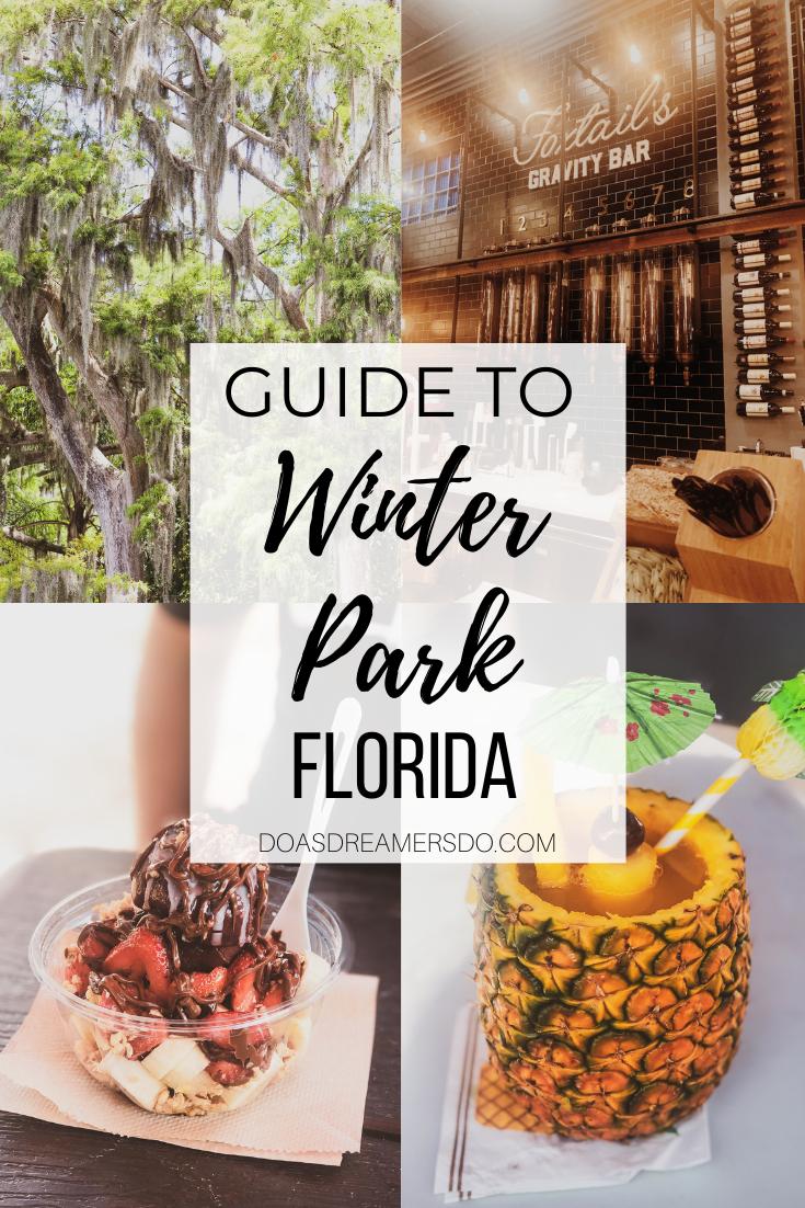 Guide To Winter Park Florida Winter Park Florida Winter Park Orlando Florida Restaurants