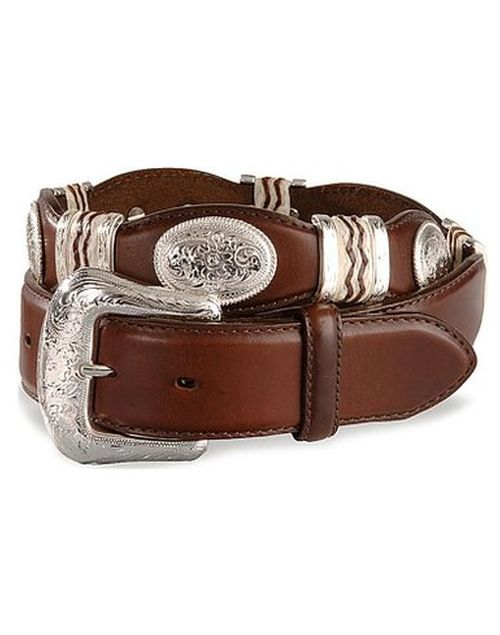 f38e20ee6 Mark Wahlberg Tony Lama Men s Cutting Champ Western Belt from Daddy s Home