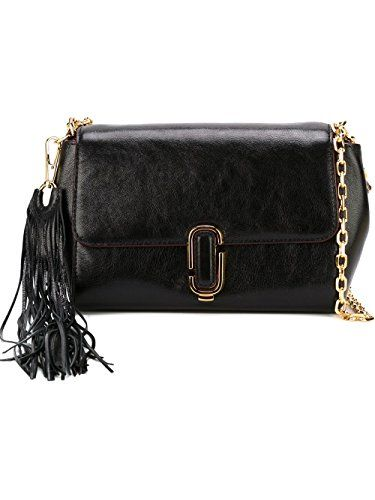 975270277d8e MARC JACOBS WOMENS M0008242001 BLACK LEATHER SHOULDER BAG     Details can  be found by clicking on the image.