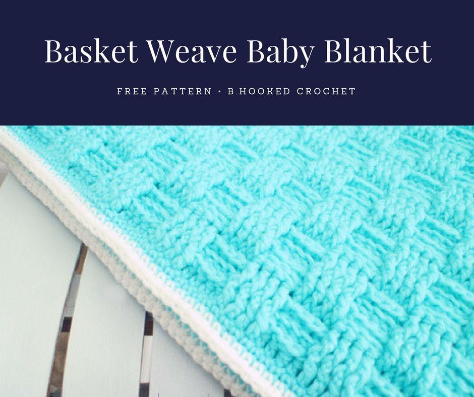 Crochet Basket Weave Baby Blanket Crochet Baby Blankets Crochet