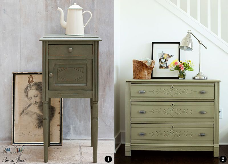 Vuelve a dar vida a tus muebles m s antiguos con la - Pintura acrilica para muebles ...