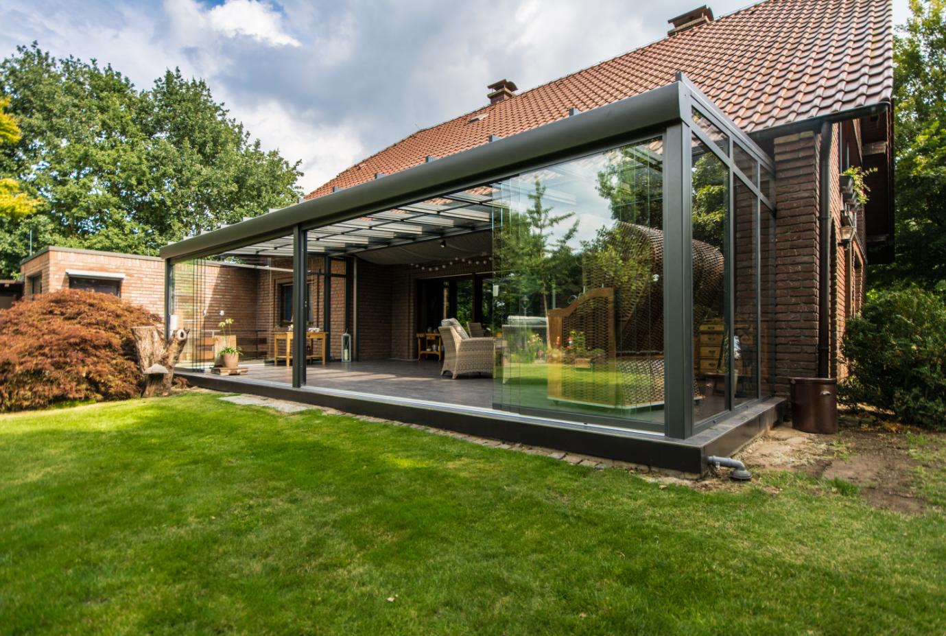 Wenn Die Terrasse Den Wohnraum Erweitert Terrassendach