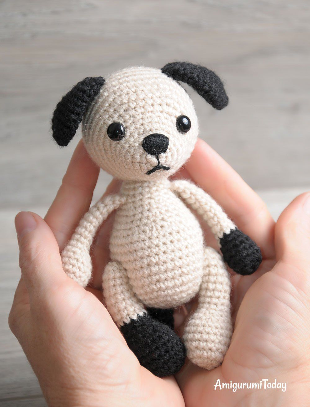 Amigurumi Dog Crochet Pattern ! Sweet Dog! - Free Amigurumi ... | 1314x1000