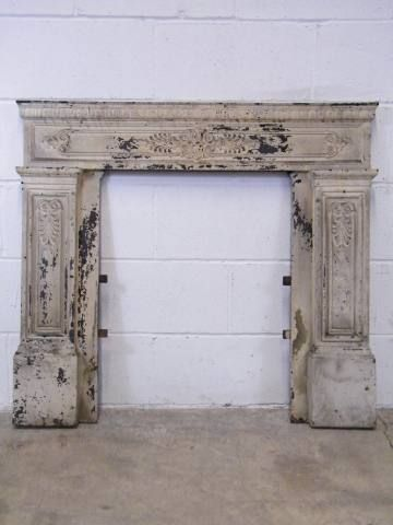Columbus Architectural Salvage Fireplace Surrounds Salvaged Fireplace Architectural Salvage Vintage Fireplace