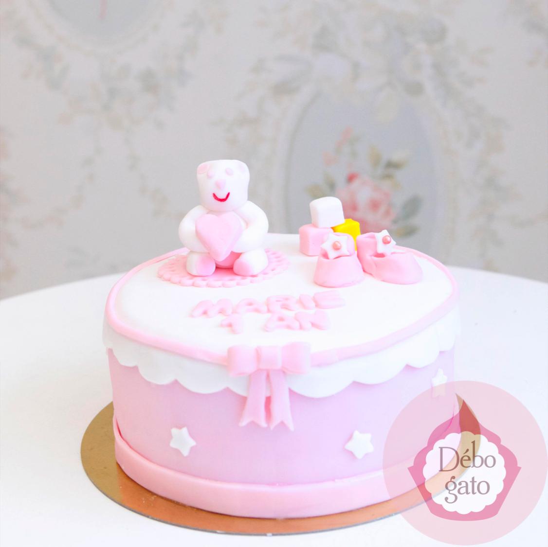Gâteau 1 an, Baby Shower, Naissance, Ourson, Ours en peluche, Cubes,Chaussons, Bébé, Baby, Teddy Bear, Rose, Bleu, Pastel, Layette, Fleurs, Perles, Dragées, Gâteaux personnalisés, Gâteau de naissance