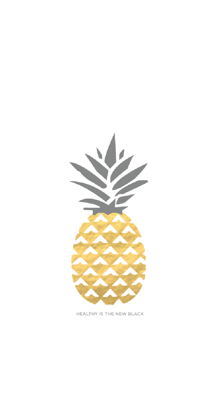 Gold Pineapples Iphone Wallpaper Healthy Lifestyle Wallpapers Enjoy