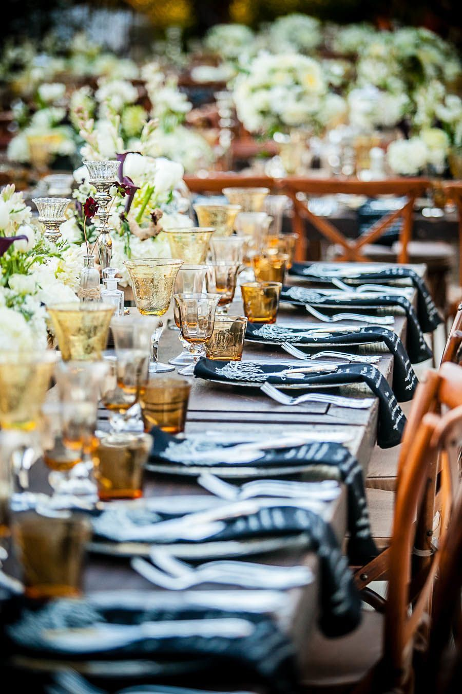 An Outdoor Wedding With Modern Elegance from Arrowood Photography. To see more: http://www.modwedding.com/2014/05/15/elegant-outdoor-wedding-from-arrowood-photography/ #wedding #weddings #reception #centerpiece