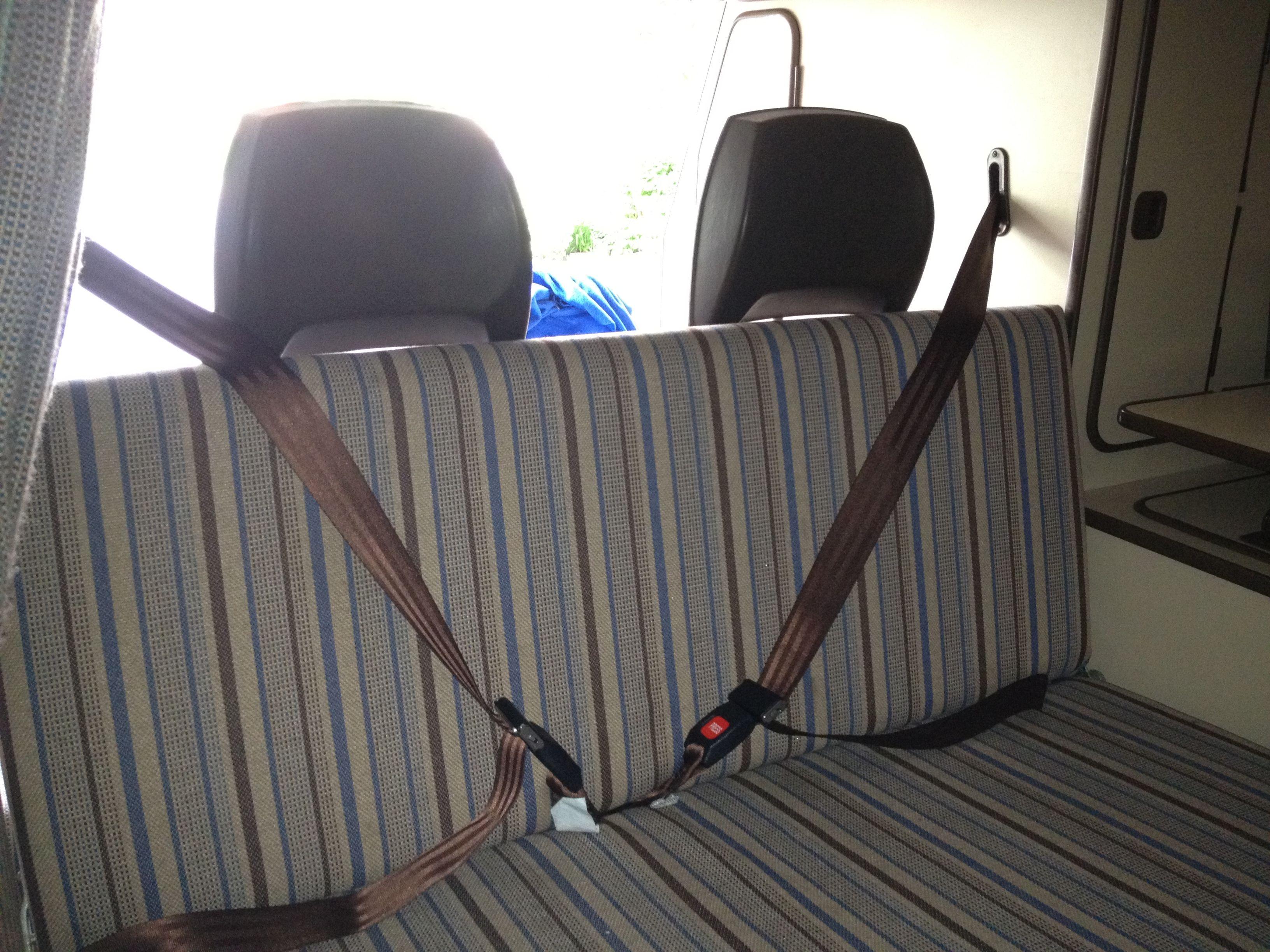 Vanagon Westfalia 3 Point Seat Belts Bench Seat Very