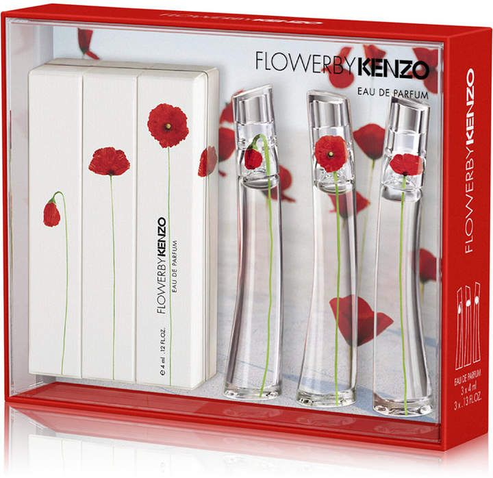 Kenzo 3pc flower by miniature fragrance gift set con