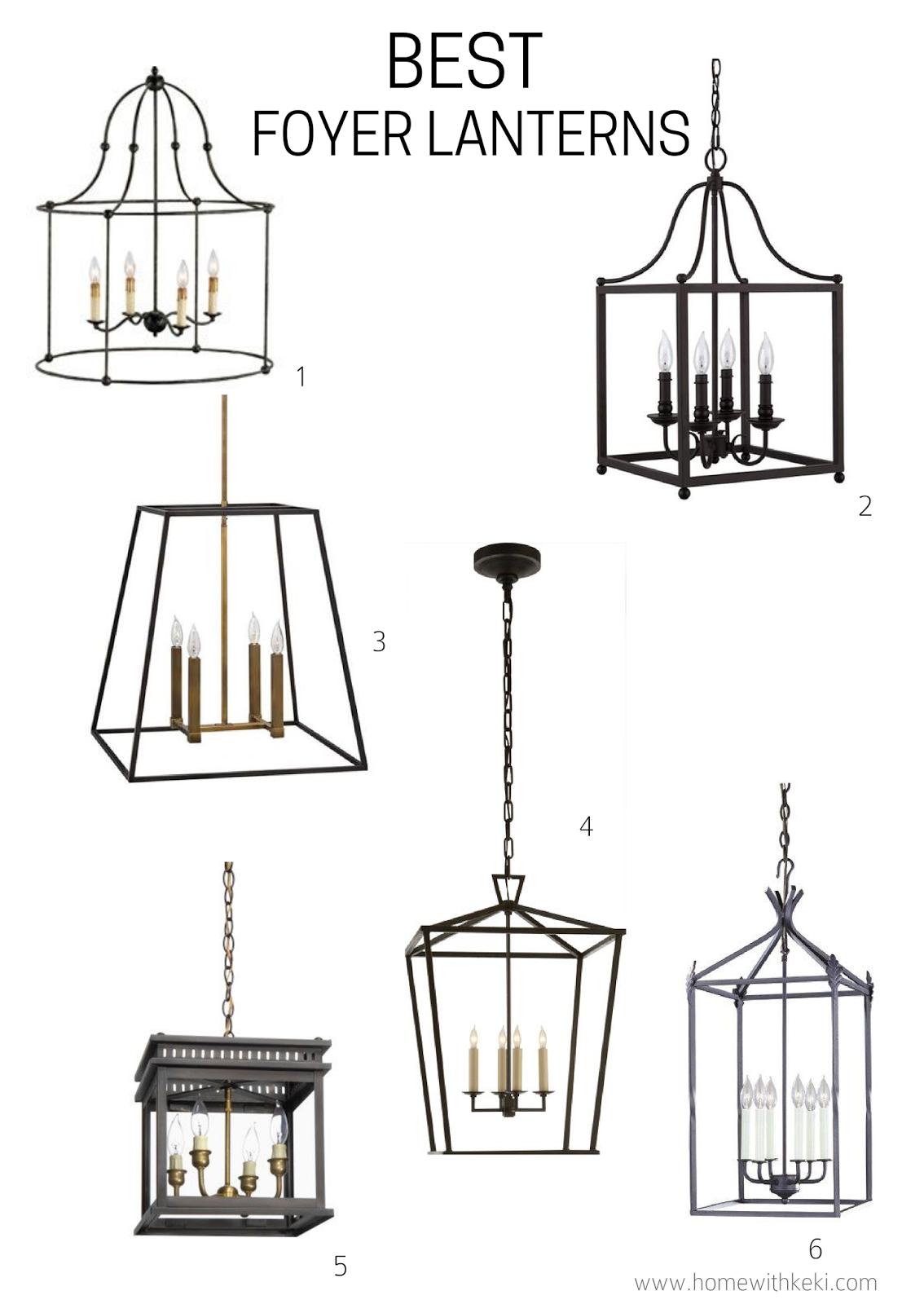 Best Foyer Lanterns For A Modern American Farmhouse Foyer