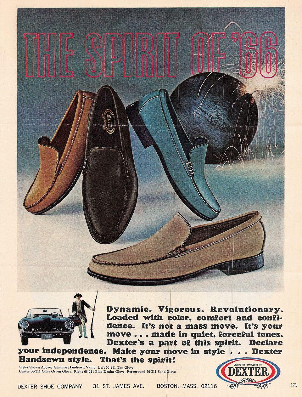 Dexter shoes, Boat shoes, Vintage men