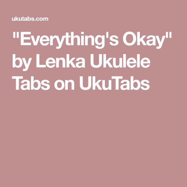 Everything\'s Okay\