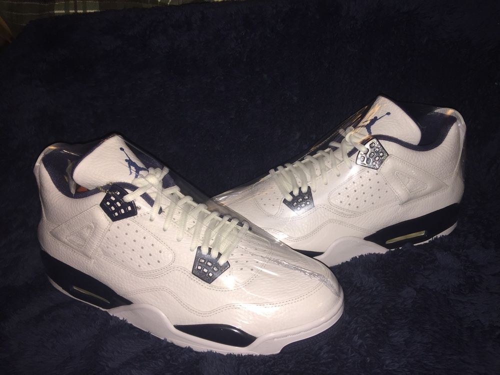 302df55a2ba6c Brand New Nike Air Jordan Retro 4 Legend Blue Size 13 #fashion ...