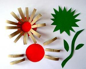 Opabilder Basteln Blumen Materialbedarf Blumenhandwerk Basteln Fruhling Fensterdeko Kinder Basteln Und Malen