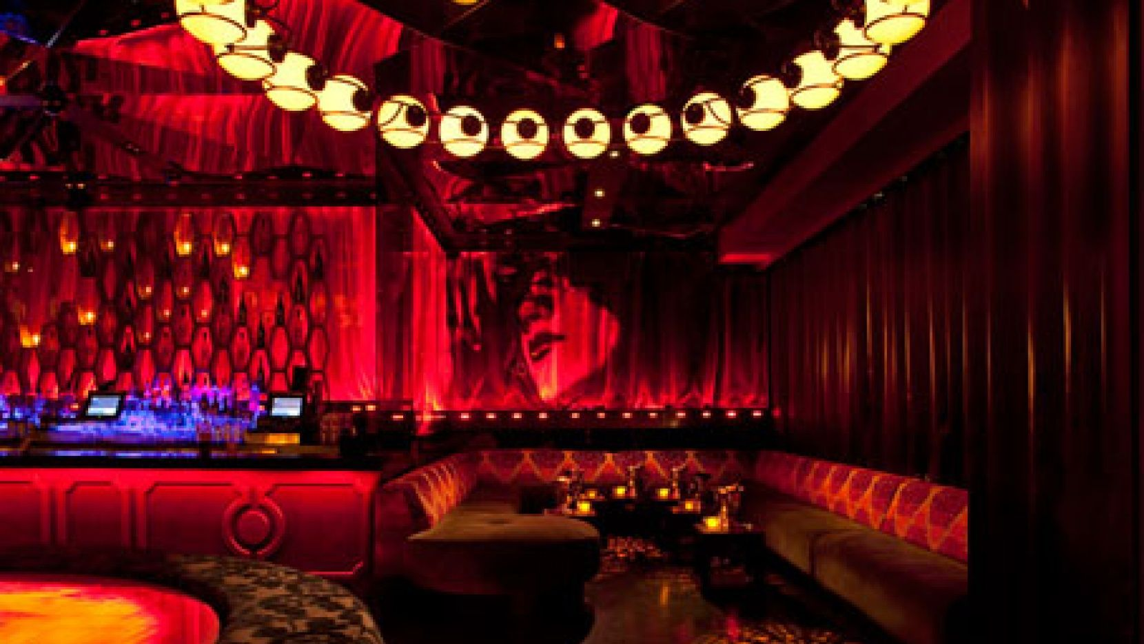 A Successful Design Concept For Night Club In Las Vegas Consists Of Artistic Colored Lighting