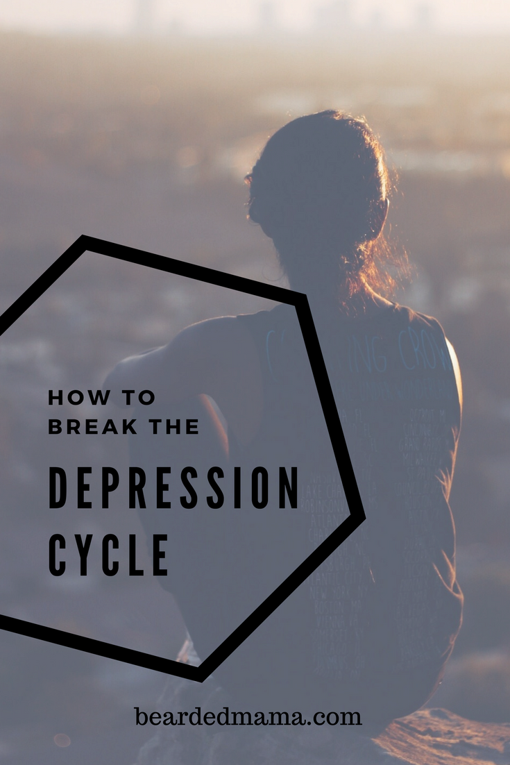 When life hits a rut it is good to remember that you can help yourself out of that rut with some self help, self love and help breaking the cycle of depression.