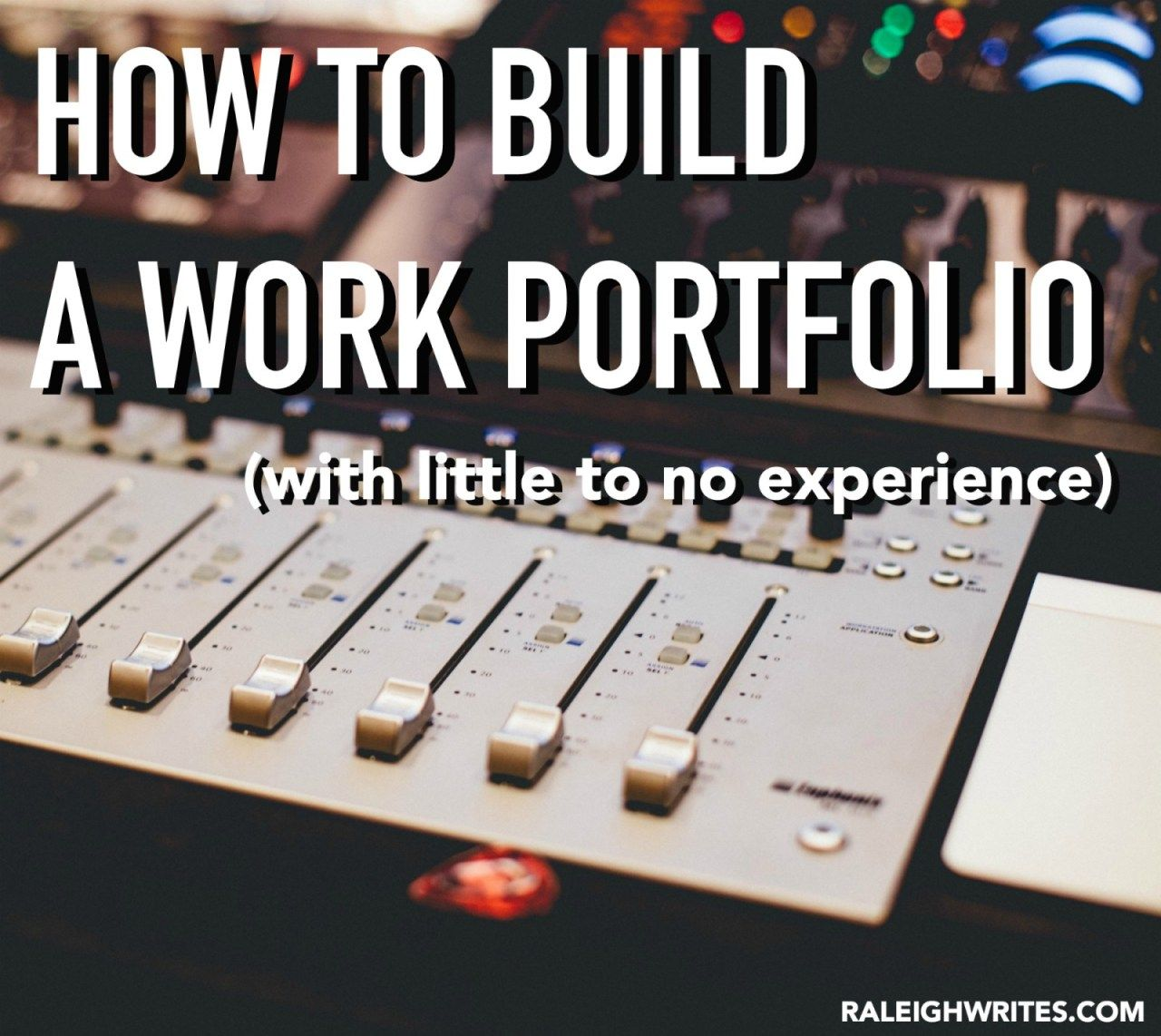 How to build a freelance work portfolio with little to no