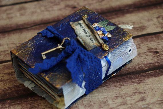 Fairy Tale Wedding Guestbook Fairytale Scrapbook by CraftPointPL
