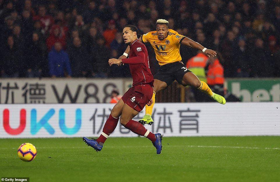 Wolves 0 2 Liverpool Mohamed Salah And Virgil Van Dijk Secure Win Liverpool Goals Liverpool Virgil Van Dijk