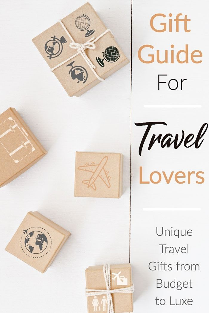 Useful Unique Travel Gifts For Travel Lovers 2019