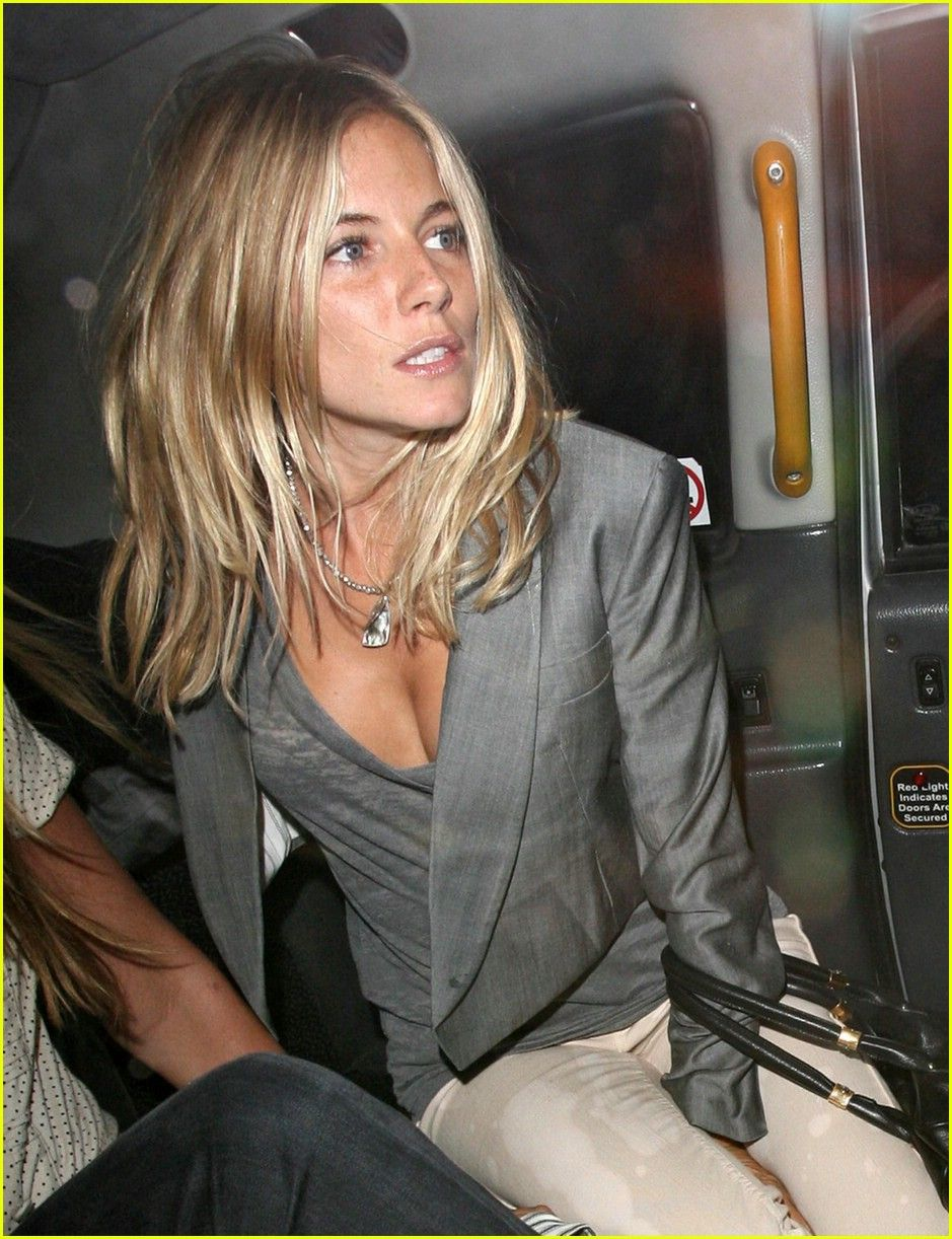Uh oh sienna miller doesnt like reality tv