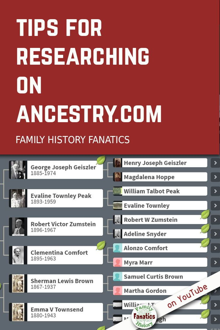 Tips for Using Ancestry.com - YouTube #genealogy
