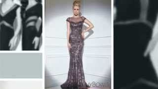 tony bowls 2014 dresses tjformal - YouTube
