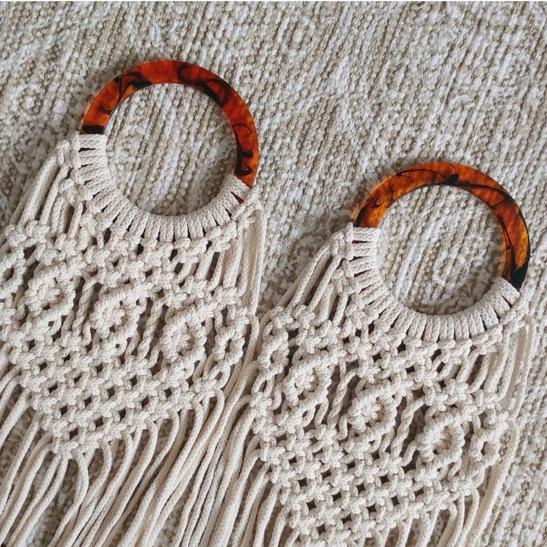 Diy Macrame Market Bag Pattern With