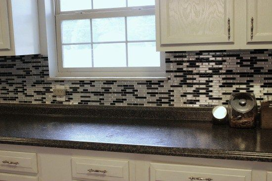 PEEL N STICK BACKSPLASH DIY kitchen Pinterest Kitchens