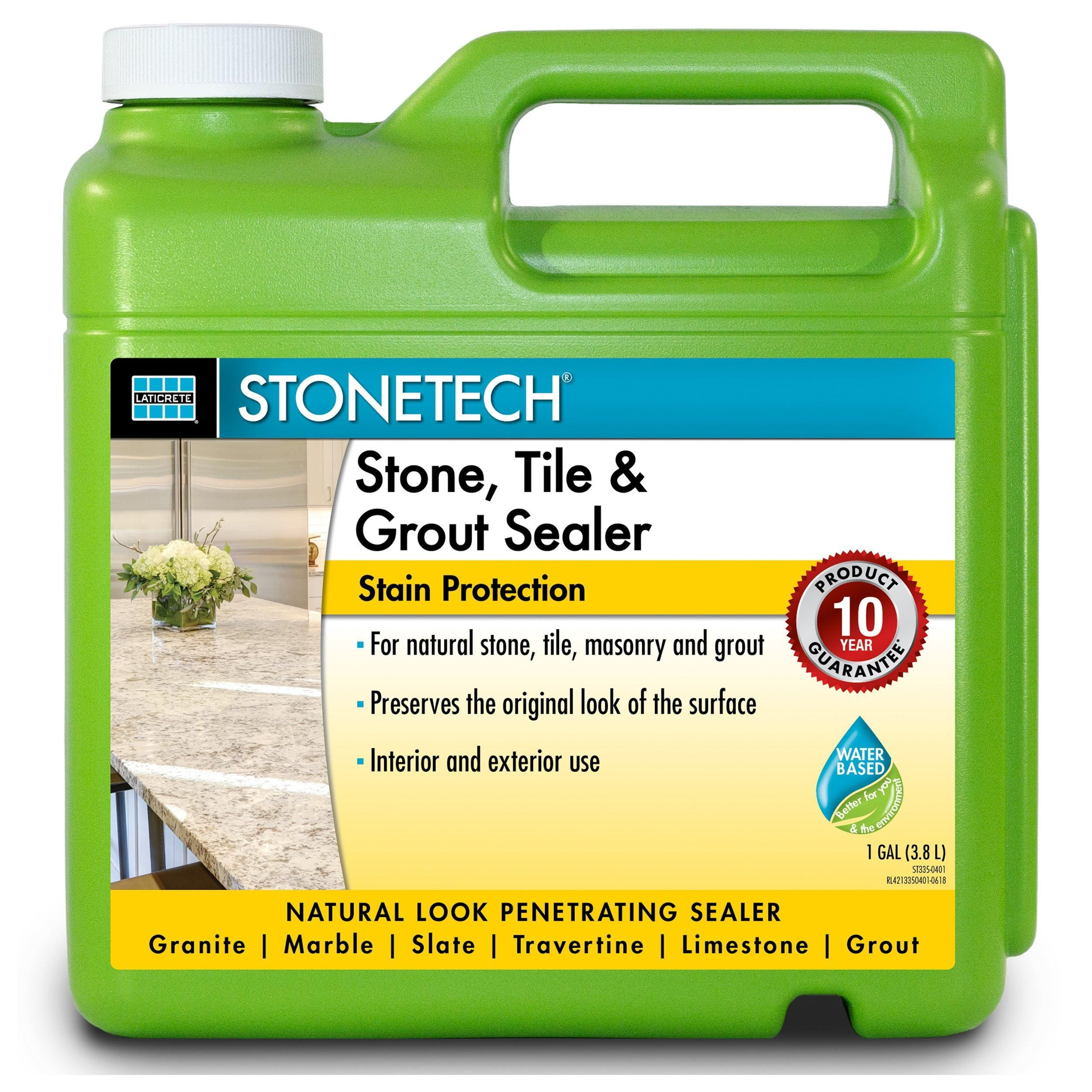 Laticrete Stonetech Stone Tile And Grout Sealer In 2020 Grout Sealer Concrete Floor Coatings Sealer
