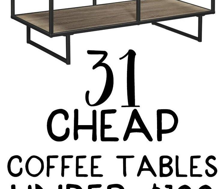 Best These Cute Cheap Coffee Tables Are All From Amazon And 400 x 300