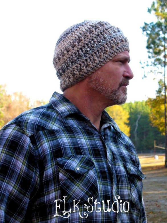 Hickory Bark - A Free Crochet Beanie by ELK Studio | Gorritas ...
