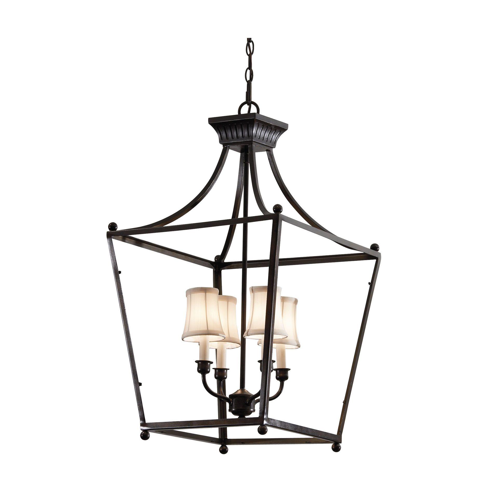 Stockton Bronze Lantern - Ethan Allen US