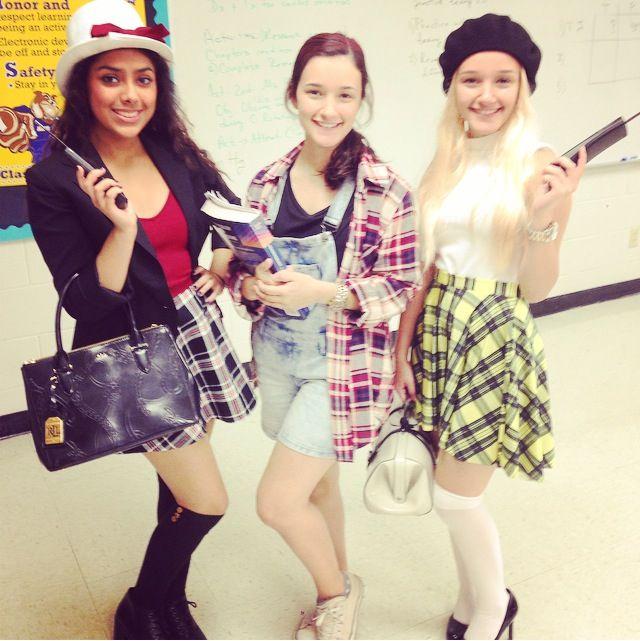Clueless costumes #dionne #tai #cher #asif  sc 1 st  Pinterest & Clueless costumes #dionne #tai #cher #asif | Cool Ideas | Pinterest ...